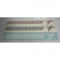 "Turbonetics 16"" Die Cut Decal*"